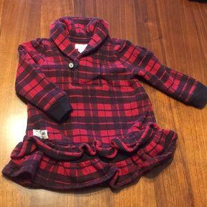 Ralph Lauren plaid sweatshirt dress